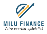 logo milu finance, milu finance courtier